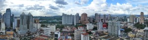 4Actual View from 20th floor Hotel front